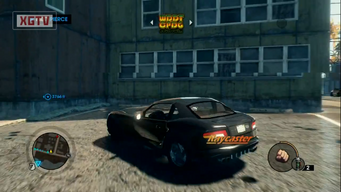 Raycaster - rear left with logo in Saints Row The Third