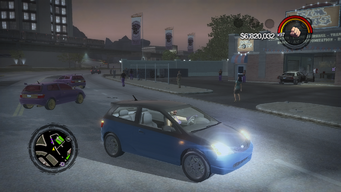 Mockingbird - front right with lights in Saints Row 2