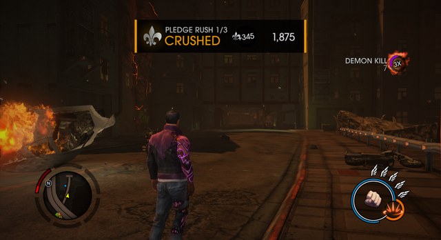 File:Saints Row Gat out of Hell - Pledge Rush Diversion Completed Screen.png