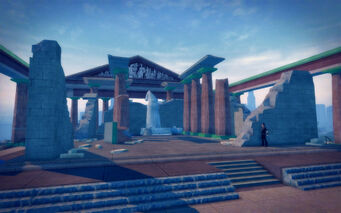 Amberbrook in Saints Row 2 - Parthenon Ruins