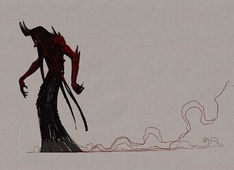 Dark Inciter Concept Art - moving with trail