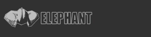File:Elephant logo - Bulldozer.png
