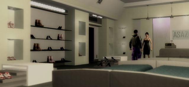 File:Luz in shoe store in Saints Row 2 Drug Trafficking cutscene.png