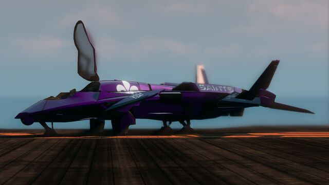 File:Saints VTOL - front left on helipad in Saints Row The Third.jpg