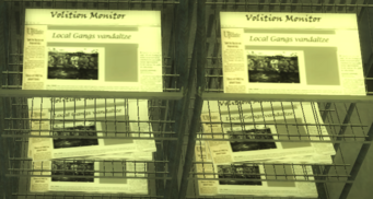 Saints Row 2 - Volition Monitor newspaper