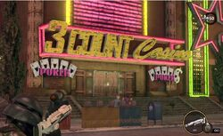 3 Count Casino exterior sign