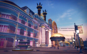 Rebadeaux in Saints Row 2 - Tee-N-Ay boardwalk