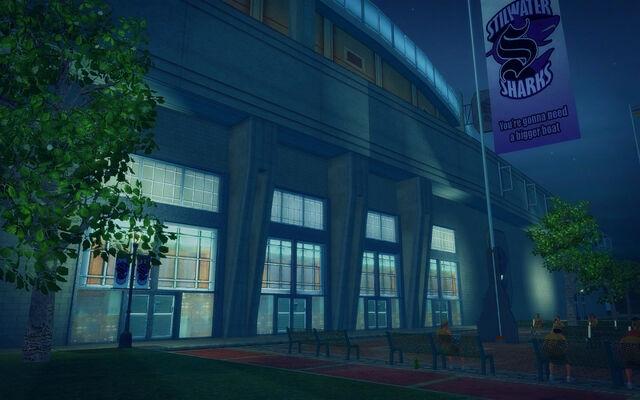 File:Ultor Dome in Saints Row 2 - side of Ultor Dome.jpg
