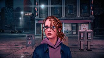 Kinzie - Face as Homie in Saints Row IV