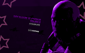 My Name is Cyrus Temple complete