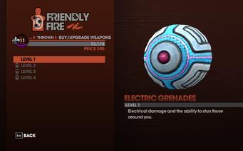 Weapon Description Saints Row The Third - Electric Grenades