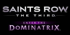 Saints Row The Third Enter the Dominatrix logo
