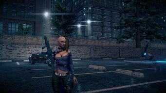Future Shaundi - body with SWAT SMG
