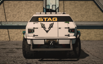 Saints Row IV variants - N-Forcer STAG - rear
