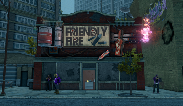 File:Friendly Fire exterior in Loren Square in Saints Row The Third.png