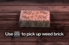 Improvised Weapon - weed brick