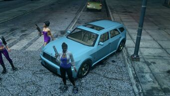 Hammer - front left in Saints Row The Third