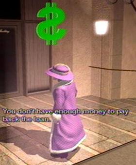 Loan Shark - not enough money