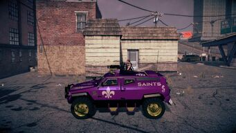 Saints N-Forcer in Saints Row IV - left