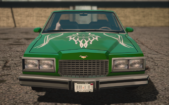 Saints Row IV variants - Stiletto SOS (with decals) - front