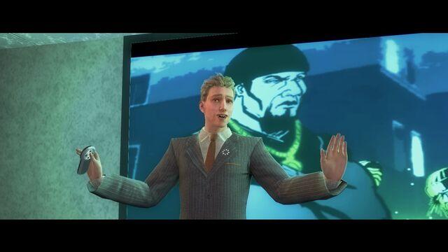File:An Amazing Quarter - Dane Vogel gesturing during presentation.jpg
