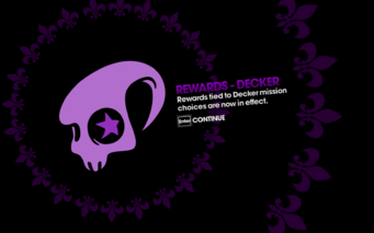DLC unlock SRTT - Rewards - Decker
