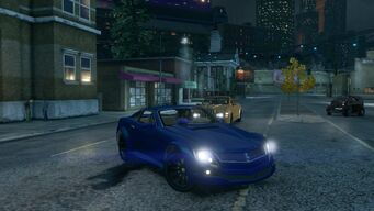 Sovereign - front right with headlights in Saints Row The Third