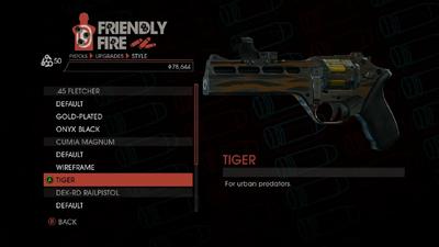 Weapon - Pistols - Heavy Pistol - Cumia Magnum - Tiger