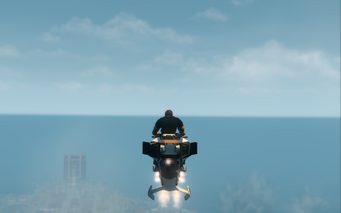 Specter - hover mode - rear in Saints Row The Third