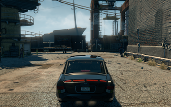 Justice - rear in Saints Row The Third