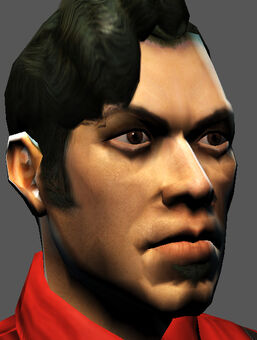 Saints Row character render - Angelo's face