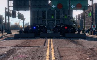 SRTT Roadblock - Police level 4 - small