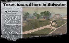 Newspaper rn09 Rest in Peace