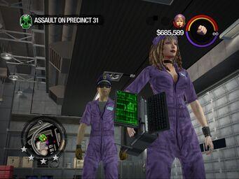 Assault on Precinct 31 Computer