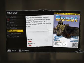SR2-Chop Shop-en-(FD)Bulldozer