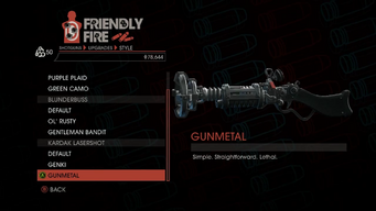 Weapon - Shotguns - Pump-Action Shotgun - Kardak Lasershot - Gunmetal