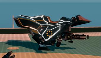Saints Row The Third DLC vehicle - Ultor Interceptor - parked - right