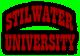 Saints Row 2 clothing logo - stilwater university 02 (curved)