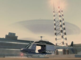Oppressor - Police variant on helipad at Police Headquarters