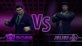 Superpowered Fight Club Boss Vs Julius Screen