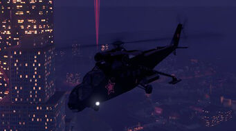 Vulture - front left in flight in Saints Row The Third