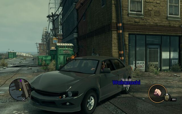 File:Wakazashi - front left with logo in Saints Row The Third.jpg