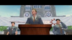 ... and a Better Life Intro - Dane in front of the Saints Row Church