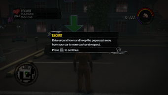 Escort tutorial in Saints Row 2