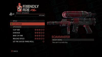 Weapon - Rifles - Burst Rifle - Upgrades