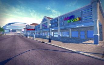 Sunsinger in Saints Row 2 - Adam's Arcade