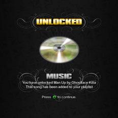 Saints Row unlockable - Music - Man Up