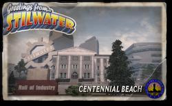 Postcard hood centennial beach