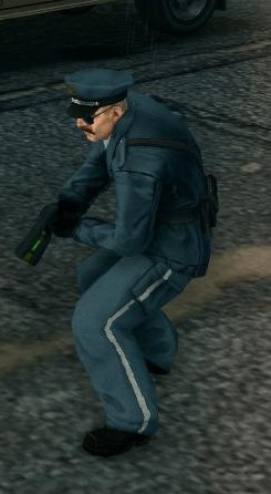 File:SR3 Police officer with Stun Gun.jpg