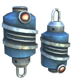 Suppression Grenade model